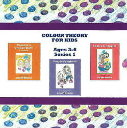 Colour Theory For Kids Set, Rudick H., New Book