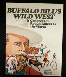 Buffalo Bill's Wild West And Congress Of Rough Riders Of The World Program 1970's