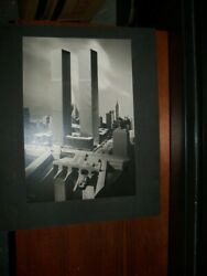 Twin Towers World Trade Center by Balthazar Korab Signed- * Excellent Cond.