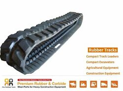 Rubber Track 450x81x76 Made For New Holland E 80msr Mini Excavator