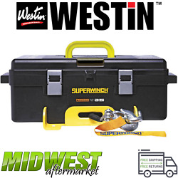 Westin Superwinch Winch2go Steel Rope Electric Winch Universal Fitment