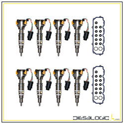 Oem Quality Parts 2004.5-2007 Ford Powerstroke 6.0l Diesel Injector Super Set
