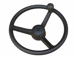 Jcb 3cx Spare- Steering Wheel With Spinner Knob Part No. 125/35000 125/34900