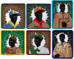6 KERRY JAMES MARSHALL COMPLETE SET SCOUT PATCH