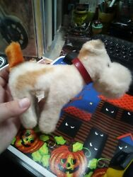 Vintage 1950's Vogue Doll's Ginny's STEIFF LIKE? Puppy Dog Fox Terrier