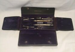 Vintage Post Draftsman 1075c Drafting Compass Set Made In Germany