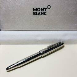 montblanc meisterstuck platinum plated jewellery mozart fountain pen nib size M