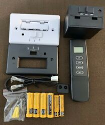 Fireplace Thermostatic Remote Control Kit Skytech Compatible W/batteries New
