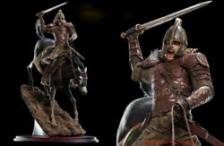 Weta The Lord Of The Rings Eomer éomer On Firefoot Horse Resin Statue Instock