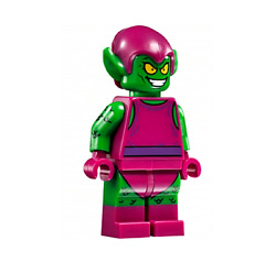 Lego Green Goblin 76057 Magenta Outfit Super Heroes Minifigure