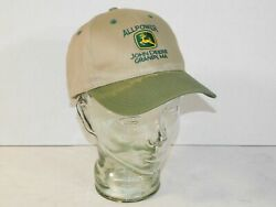 John Deere Owners Edition Granby Ma Local Store Tractor Hat Farm Adjustable Cap