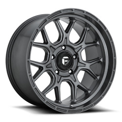 20x10 Et-18 Fuel D672 Tech 5x127 Matte Anthracite Wheels Set Of 4