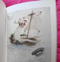 Barrie: Peter Pan and Wendy illustrated by Attwell (c1928)- RARE Great condition