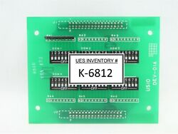 Ushio Dev-01a Interface Board Pcb A128 Svg 90s Lithography Duv Working Spare