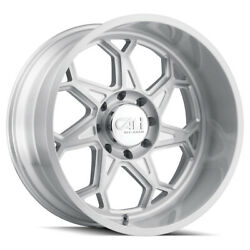 Cali Off-road Sevenfold 9111 24x12 8x170 Et-51 Brushed And Clear Coated Qty Of 4
