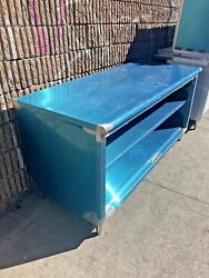 All Stainless Steel 24x108 Commercial Dish Cabinet Storage - Nsf Approved
