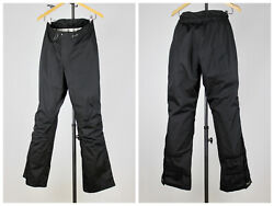 Womens HALTI Travel Tracking Pants Outdoors Weight 300 Series Black Size EU 40