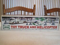 2006 Hess Toy Truck And Helicopter--new