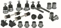 Pontiac Deluxe Front End Suspension Kit Tie Rod Ends+ball Joints+bushings 66/68