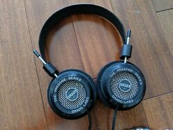 Grado Sr225e Headphones Recabled With Plussound Silver Plater Copper Cable