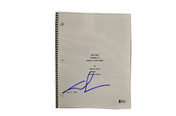 George Lucas Signed Signed Star Wars Episode 2 Attack Of The Clones Script Bas B