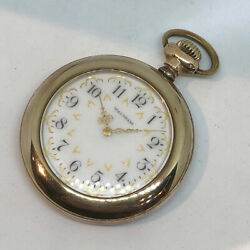 Pre-owned Pocket Watch Waltham 1950 Manual-wind Watch, Features 45mm