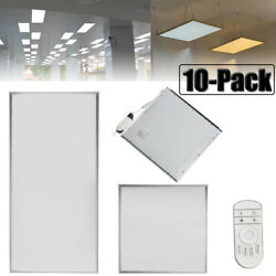 10Pcs 64W 42W 36W 18W LED Recessed Ceiling Panel Down Lights Lamp Fixtures Bulb