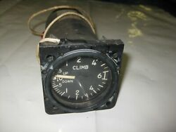 Bell Helicopter 206 A/b Rate Of Climb Indicator P 206-070-278-005 Used Core
