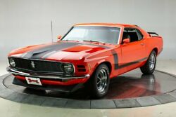 1970 Ford Mustang Boss 302 1970 Ford Mustang Boss 302 302 V8 4 Speed Manual Coupe Calypso Coral