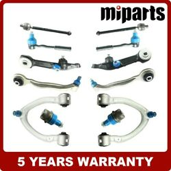 Upper Lower Control Arms Ball Joints Kit 12pcs Fit For Mercedes W220 S500 S430
