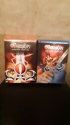 Thundercats Season 1 Dvd Box Set Volumes 1 And 2 Disc Are In Vg Cond.
