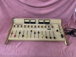 Arrakis Systems 2000SCT-12S 12-Fader Stereo Broadcast Mixing Console