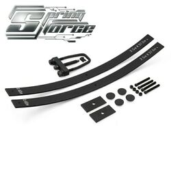 2 Rear Lift Kit For 88-99 Chevrolet Gmc K1500 Add-a-leaf St W/ Tool + Shims 4wd