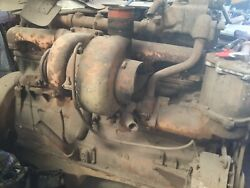 Cummins 230 With Turbo / Compression Release / Tapered Crank Early 70s Motor