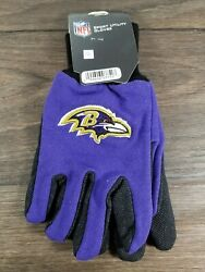 Baltimore Ravens Sports Utility Gloves Adult One Size Fits All Nfl Football