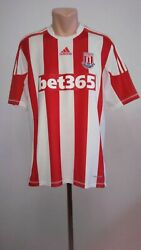 Football Shirt Soccer Stoke City Home 2012/2013 Adidas Player Issue Formotion L
