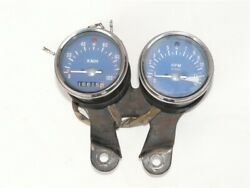 Honda Cb50j Speed And Tachometer With Base / Stay 16815km