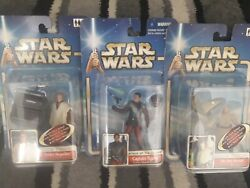 Star Wars Attack Of The Clones Captain Typho Obi-wan And Anakin Skywalker.lot