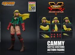 New 1/12 Scale Storm Toys Cammy Arcade Edition Sdcc Ver. Action Figure Instock