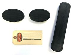 1930 1931 1932 1934 Plymouth And Dodge Clutch, Brake And Gas Pedal Pad Set