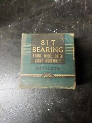 Ford Bearing 8it-1216 Front Wheel Outer Cone Assembly Vintage Parts