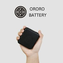 ORORO Rechargeable Battery Heated Jacket Vest Portable Power Bank 5200mAh 7.4V