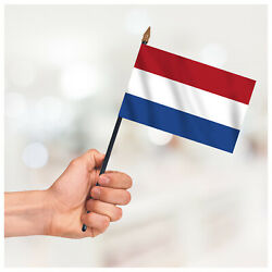 Netherlands Country Hand Waving Flag Small Handheld National Flag With Hardware
