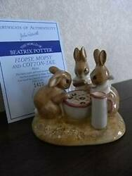 Beswick Beatrix Potter- Flopsy Mopsy and Cottontail Tableaux Limited 1500 only