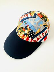 Polo Chariots Crest Cap Limited Edition Flag 5 Panel Long Bill Hat
