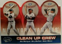 .2004 DONRUSS LEAF YANKEE CLEAN UP CREW. 12 250