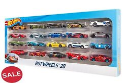 Hot Wheels 20 Cars Gift Pack Collectors Edition Features Classic And Hot Designs