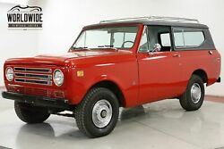 1972 INTERNATIONAL SCOUT II 4x4 CONVERTIBLE 345 V8 PS PB COLLECTOR CALL 1-877-422-2940! FINANCING! WORLD WIDE SHIPPING. CONSIGNMENT. TRADES. FORD