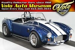 1965 Shelby Cobra Backdraft Only 3600 miles. Ford crate BOSS 302 4 wheel ind susp! Car #1