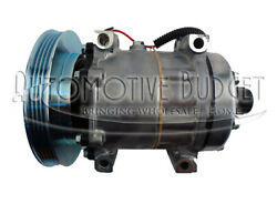 A/c Compressor For Case/ih Loader Backhoe Tractor And Ford/new Holland Tractor